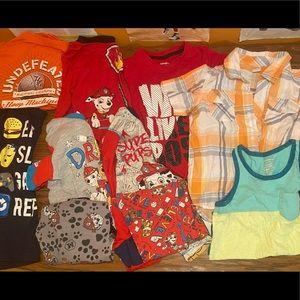 (18 items) Bundle of boys clothing 4T-5T-boysmall